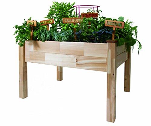 CedarCraft Elevated Garden Planter 33 X 49 X 30