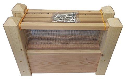 4x4x2 Tall Cedar Raised Bed Garden 2 Inch thick boards