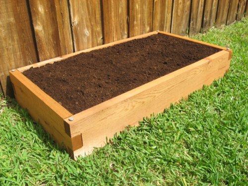 Cedar Raised Garden Bed - 2x4