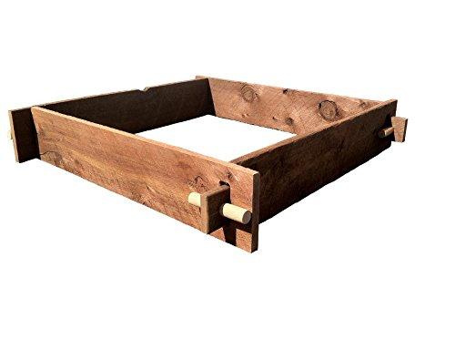Mill Direct Western Red Cedar Raised Garden Bed 71 W