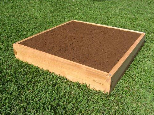 Cedar Raised Garden Bed - 4x4