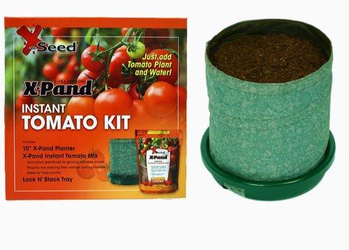 X-Seed X-Pand Instant Tomato Planter Kit