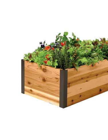 Cedar Raised Garden Bed 2 x 6 x 15