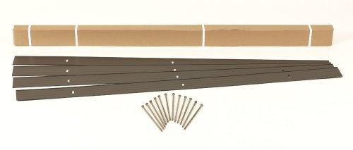 Easyflex 1806bz-24c Aluminum Landscape Edging Project Kit Will Not Rust Like Steel Bronze