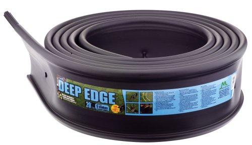 Master Mark Plastics 22620 Deep Edge Landscape Edging 6 Inch By 20-foot Black