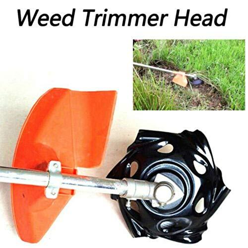 KINHOO Round Edge Lawn Mower Weed Trimmer Head Carbon Steel Blades for Garden Lawn Machine Accessories Power Tool