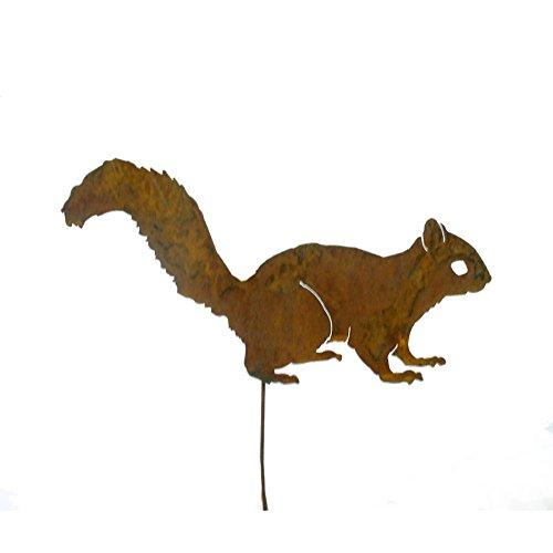 Elegant Garden Design Alert Squirrel Garden Pick Rusty Patina