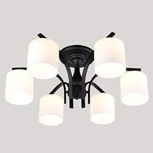 YANG Ceiling Light-American Led Iron Simple Modern Garden Ideas Living Room Bedroom Restaurant Energy Saving75cm