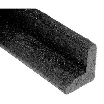Ecoborder 4 Ft Black Rubber Landscape Edging 6-pack