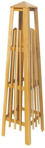 Arboria Manhattan Cedar Obelisk Trellis