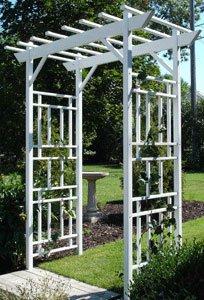 Dura-trel 11179 Wellington Arbor White