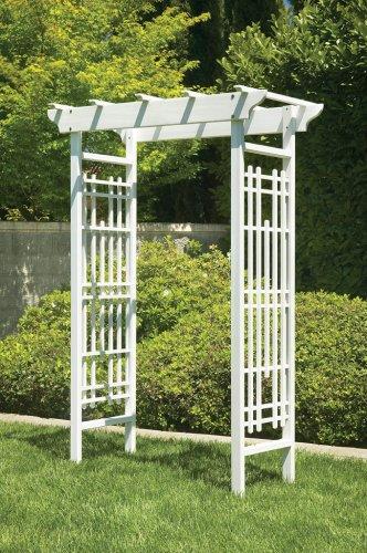 Greenstone White Wedding Arbor