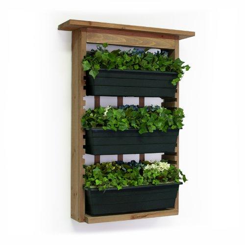 Algreen 34002 Garden View Vertical Living Wall Planter