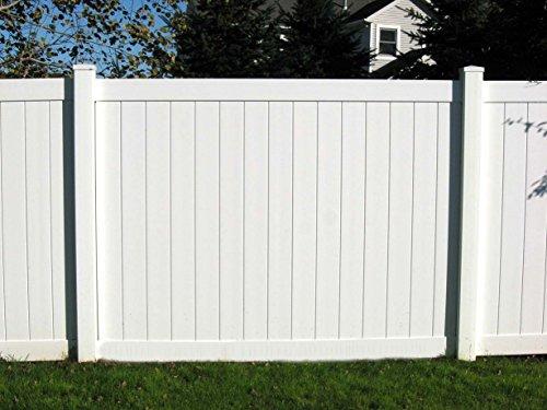Vinyl Privacy Fence Panel Kit 6X8