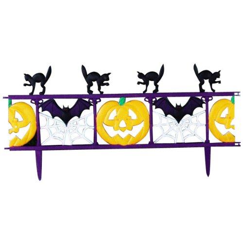 Forum Novelties Inc Pumpkin Patch Fence Section Multicoloured One Size