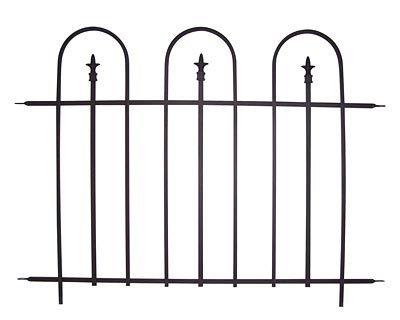 Panacea Triple Arch Garden Fence Sections 48W