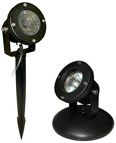Alpine 50-watt Pond Light Clear Lense With Transformer And Stake 33-feet
