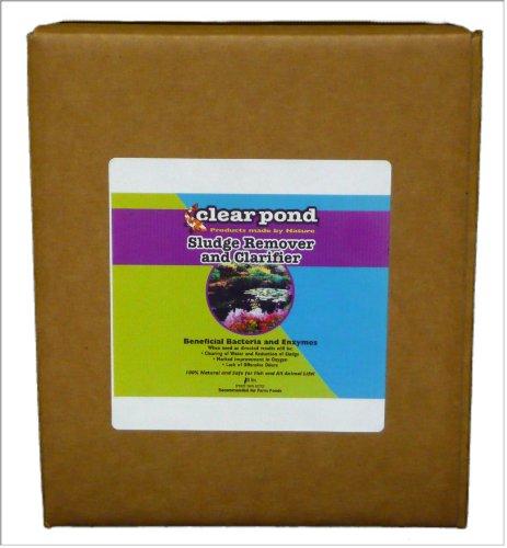 Clear Pond Dry Sludge Remover And Clarifier - Bulk 10-pound