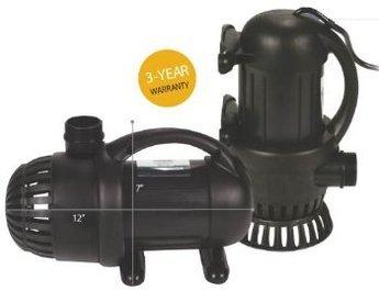 Aquasurge 4000 Gph Pond Pump-g2-with Green Vista Protective Pump Bag 3000 Value
