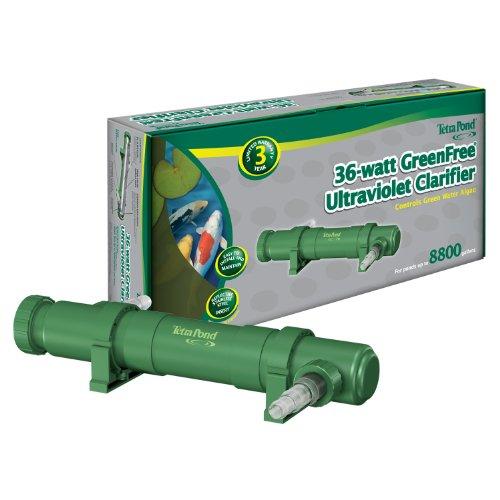 Tetrapond Uvc-36 Greenfree Uv Clarifiers 36-watt