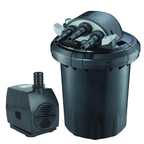 Bio Pressure 13w Uv Pond Filter With 528gph Pump Up To 1000 Gallon