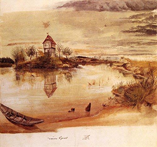 House by a Pond by Albrecht Duerer - 20 x 20 Premium Canvas Print