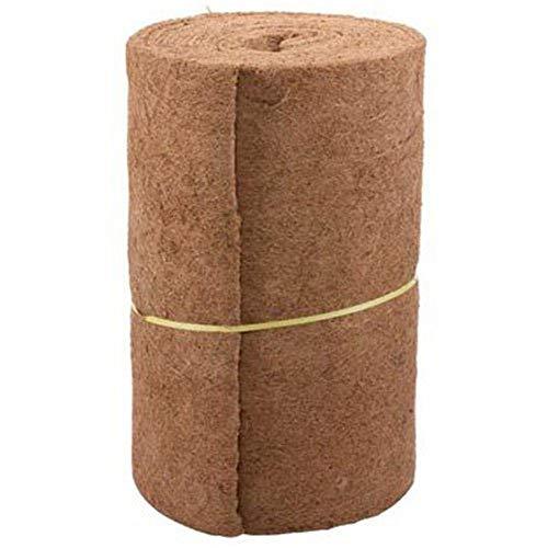 Urnanal Coco Fiber Liner Wall Hanging Basket Liners Bulk Roll 24in Width 33in Lenth for Home Garden Wedding Decor