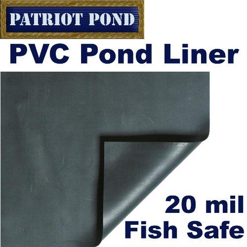 20 x 20 Patriot 20 mil PVC Pond Liner