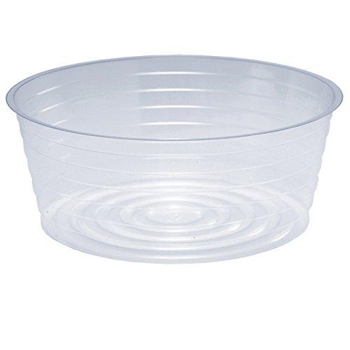 Cwp L-0091 Heavy Gauge Vinyl Pvc Plastic Basket Liner 9-inch Diameter Clear 200case