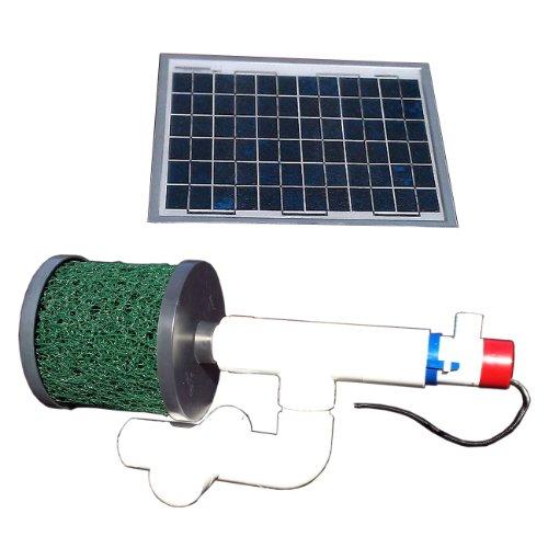 Natural Current Savior Bottom Feeder Pond Solar Pump and Filter System 20-watt