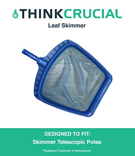 Durable Heavy Duty Pool Leaf Skimmer For Professional Pool Cleaning By Think Crucial