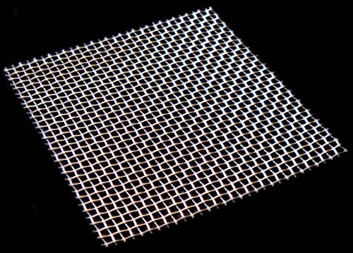 Woven Wire Mesh 8 mesh Stainless Steel 304L - 25mm Aperture - by Inoxia Cut Size 15cmx15cm