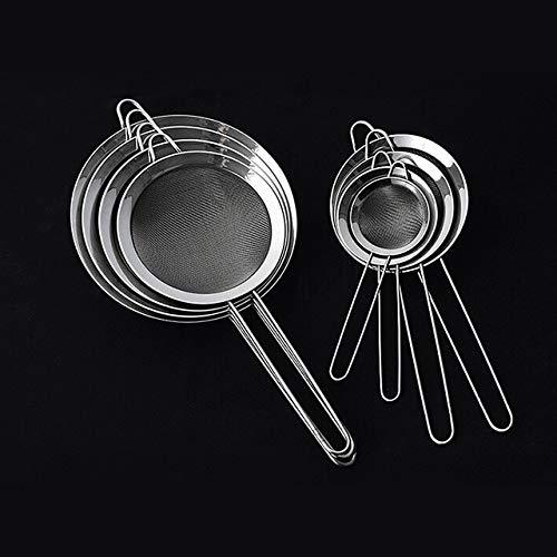 Fiesta Cooking Oil Strainer Stainless Steel Fine Wire Mesh Oil Skimmer Strainer Flour Sifter Sieve Colander Kitchen Tools Accessories 16cm