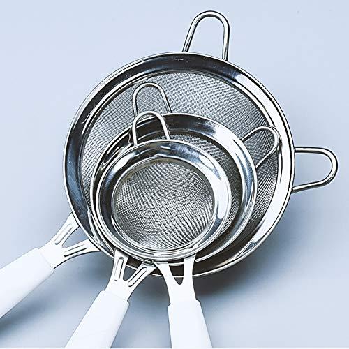 Stainless Steel Fine Wire Mesh Kitchen Sieve Stainless Steel Fine Mesh Strainer Colander Sieve Sifter Kitchen Cooking Tool 8cm