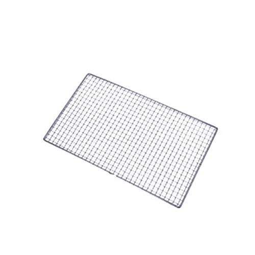 Feian Barbecue Grill RackStainless Steel Net Charcoal Grill Wire Mesh Cooking Plate Camping BBQ Basket for Outdoor Picnic Park Beach Wild
