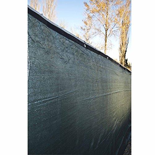 Aleko 4 X 50 Dark Green Fence Privacy Screen Windscreen Shade Cover Mesh Fabric