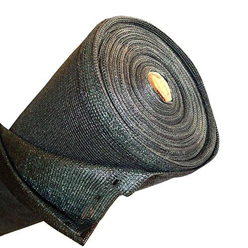 Aleko&reg 6 X 150 Dark Green Fence Privacy Screen Windscreen Shade Cover Mesh Fabric Roll With Lock Holes