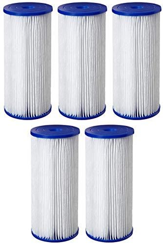 Pentek R50-BB Pleated Polyester Filter Cartridge 9-34 x 4-12 50 Microns Fіvе Расk