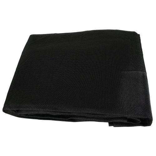 Black Mesh 7x10 Heavy Duty Uv Screen Shade Canopy Patio Yard Tarp Sun Cover