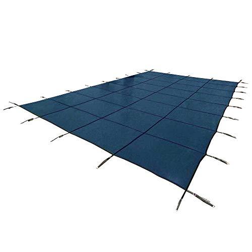 Yard Guard Deck Lock Mesh 18x36 Inground Swimming Pool Safety Cover Blue
