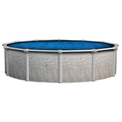 Backyard Leisure by Wilbar Vision 52 Above Ground Pool Package Size 24 Round