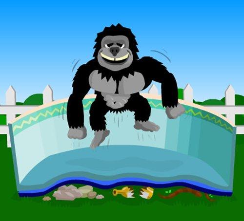 Gorilla Floor Padding For 12ft X 24ft Rectangular Above Ground Swimming Pools