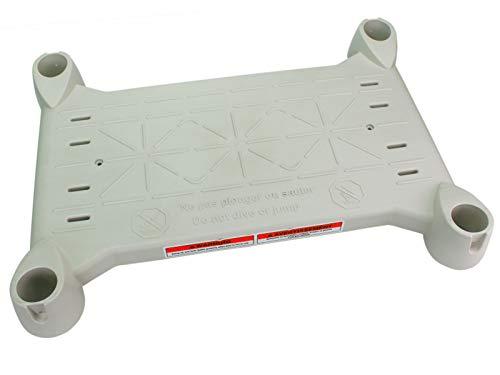 Platform for Above Ground BiltMor Swimming Pool Step Grey