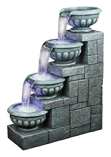 Design Toscano Temple Of Apollo Cascading Garden Fountain