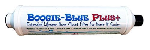 BOOGIE BLUE Plus De-Chlorinating De-Chloramine Garden Hose Water Filter