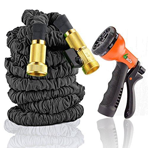 Premium 100 Expandable HoseTough Flexible Expanding Garden Utility HoseHigh Pressure Nylon Braided Hose Pipe100ft