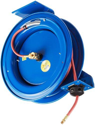 Coxreels P Series AirWater Hose Reel with Hose Model EZ-P-LP-150 14 Hose ID 50 Length