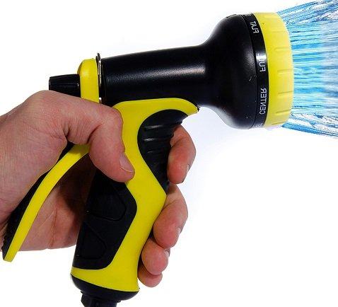 Garden Hose Nozzle  Fall Sale By Careful Gardener Best For Lawns Plantsamp Shrubs Washing Cars Dogs  Pets