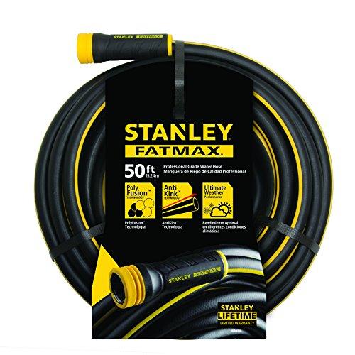 Stanley Fatmax Garden Hose 50 X 58&quot Black