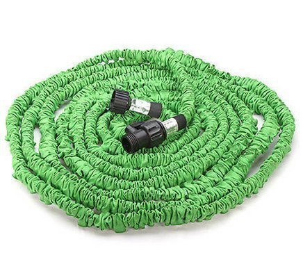 Klaren Expandable And Flexible Garden Hose 25 Ft Expanding Or Collapsible Hose For Easy Home Storage green 25